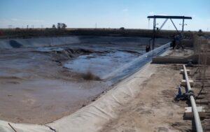Cleaning Spillage Dam